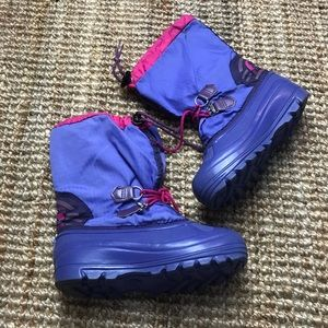 Sorel Boots Winter Rain Big Kids 4 Girls Purple